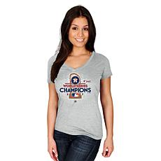 World Series 2017 Champions Women's Locker Room Tee