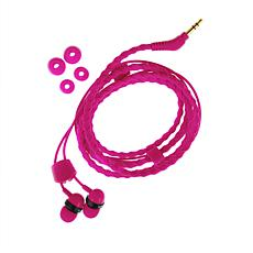 Wraps Wristband In-Ear Headphones - Pink