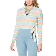 WVVY Rainbow Wrap Sweater