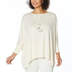 WynneLayers Boxy Bateau Neck Top