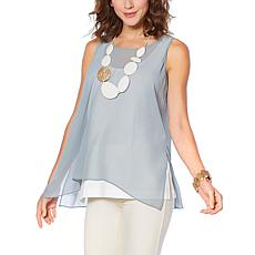WynneLayers Chiffon Tank