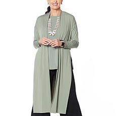 WynneLayers Dolman-Sleeve Knit Duster