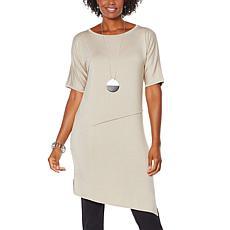 WynneLayers Dolman Sleeve Panel Knit Dress