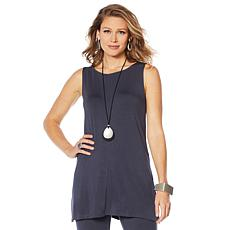 WynneLayers Jersey Knit Center Seam Tunic