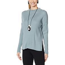 WynneLayers Soft Knit Crew-Neck Sweater