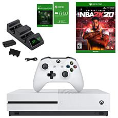 Xbox One S with NBA 2K20 and Dual Charger