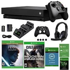 Xbox One X 1TB Star Wars Jedi: Fallen Order  Console with Call of D...