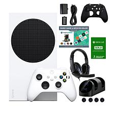 Xbox Series S 512GB Console w/Accessories, Voucher & 3-months of Live