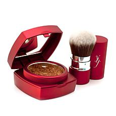 "ybf ""Greater"" Bronzing Powder with Kabuki Brush"