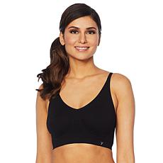 Yummie Seamless Cotton-Blend Shaping Bra