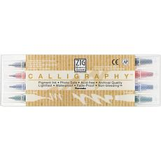 Zig Memory System Calligraphy 4-Pack Marker Set