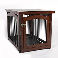 zoovilla Large 2-in-1 Crate and Gate