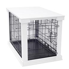 zoovilla Small Cage with Crate Cover - White