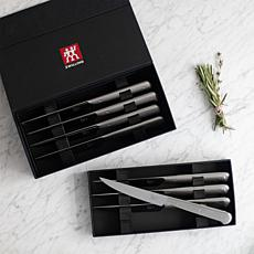 Zwilling J.A. Henckles  8pc Stainless Steel Steak Knife Set