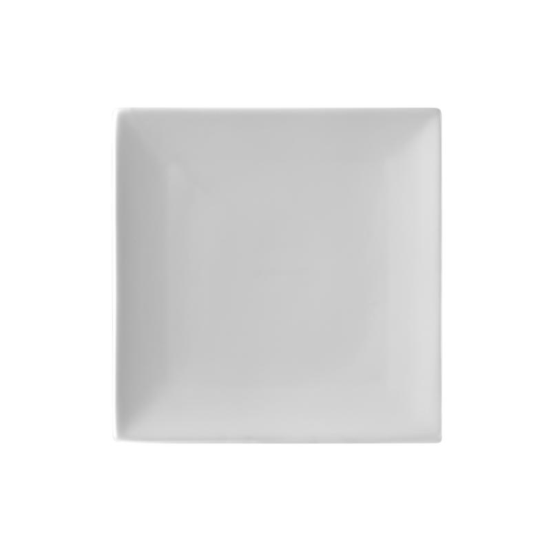 10 Strawberry St Set of 6 Whittier Coupe Square Plates