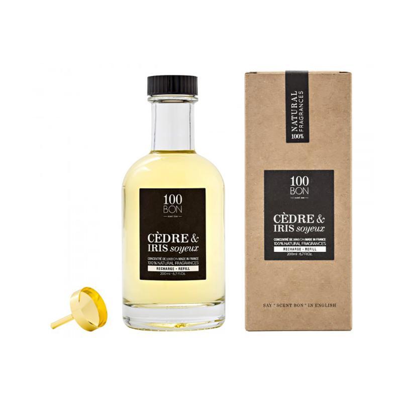 100 Bon Concentrate Cedre & Iris Soyeux 6.7 oz. Eau De Parfum