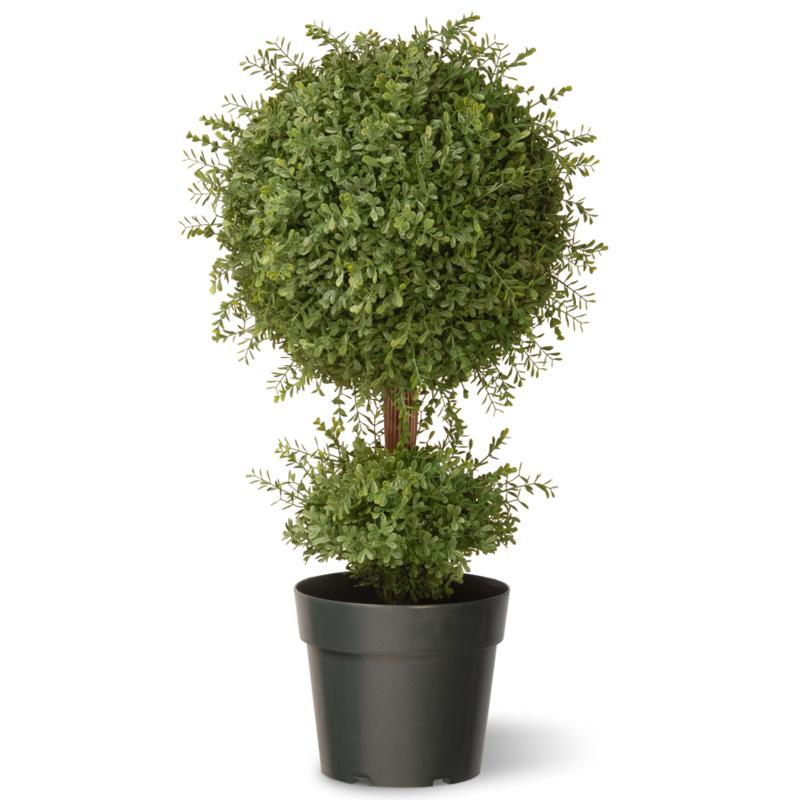 2-1/2' Mini Tea Leaf 1-Ball Tree