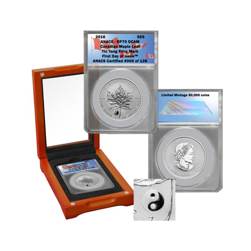 2016 RP70 First Day of Issue Limited Edition 128 Canada Maple Leaf $5 Silver Co   8061348