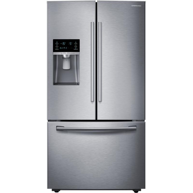 23 Cu. Ft. Counter-Depth French Door Refrigerator  Stainless Steel