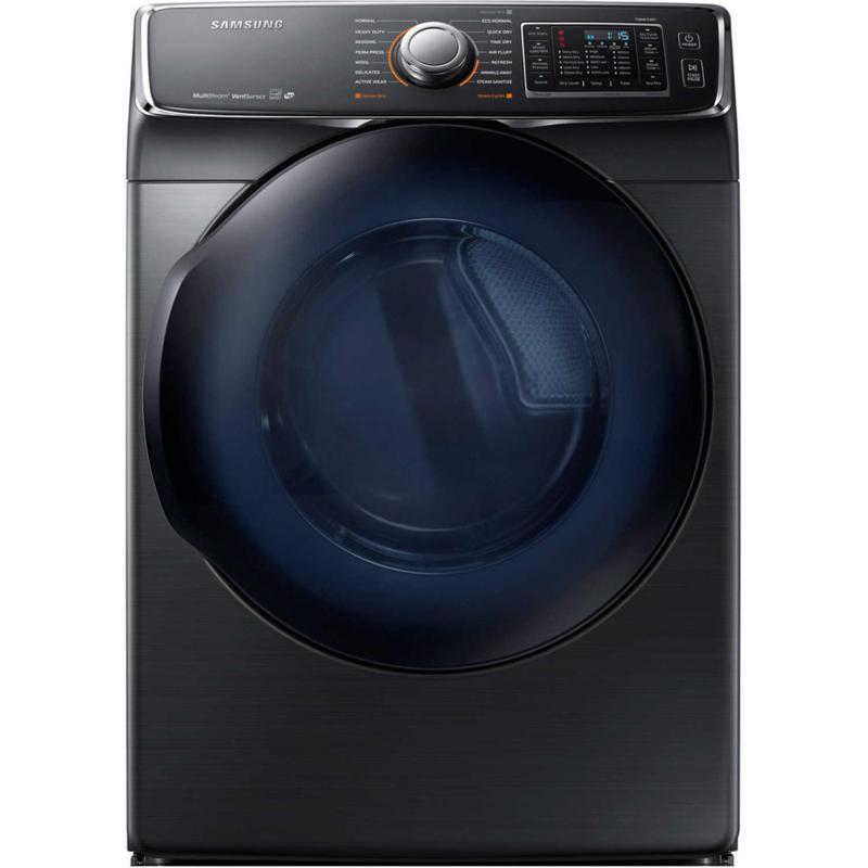 6500 Series 7.5 Cu. Ft. Gas Dryer- Black Stainless Steel