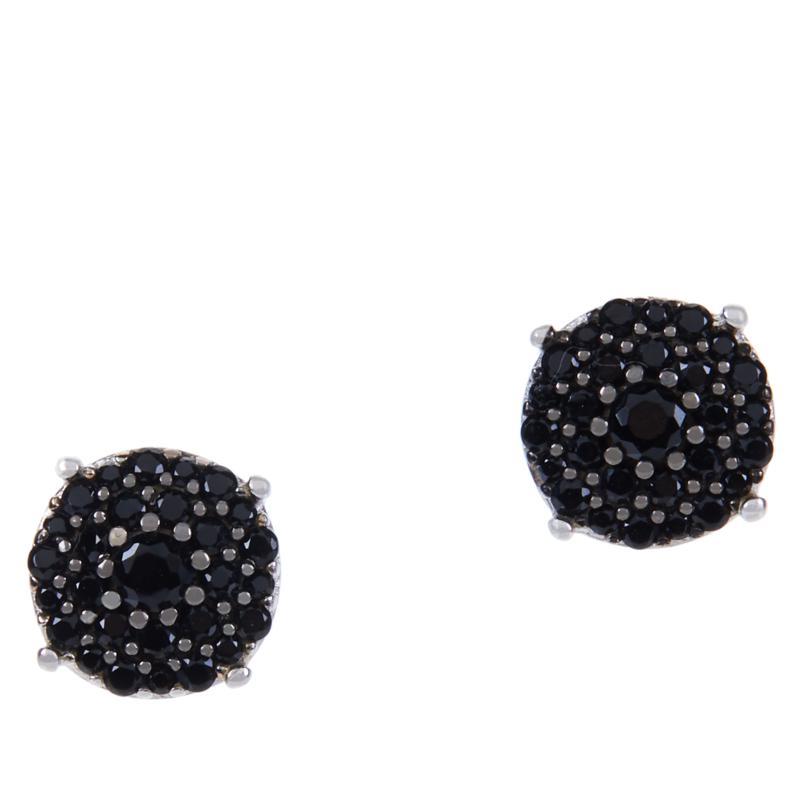 Absolute™ Cubic Zirconia Pavé Cluster Stud Earrings