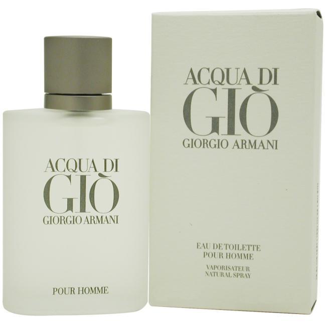 Acqua Di Gio by Giorgio Armani - Spray for Men 1.7 oz.