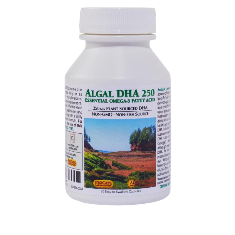 Algal DHA 250 - 30 Capsules