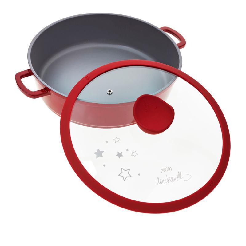 Anne Burrell 4.3-Quart Nonstick Cast Aluminum Casserole Pan