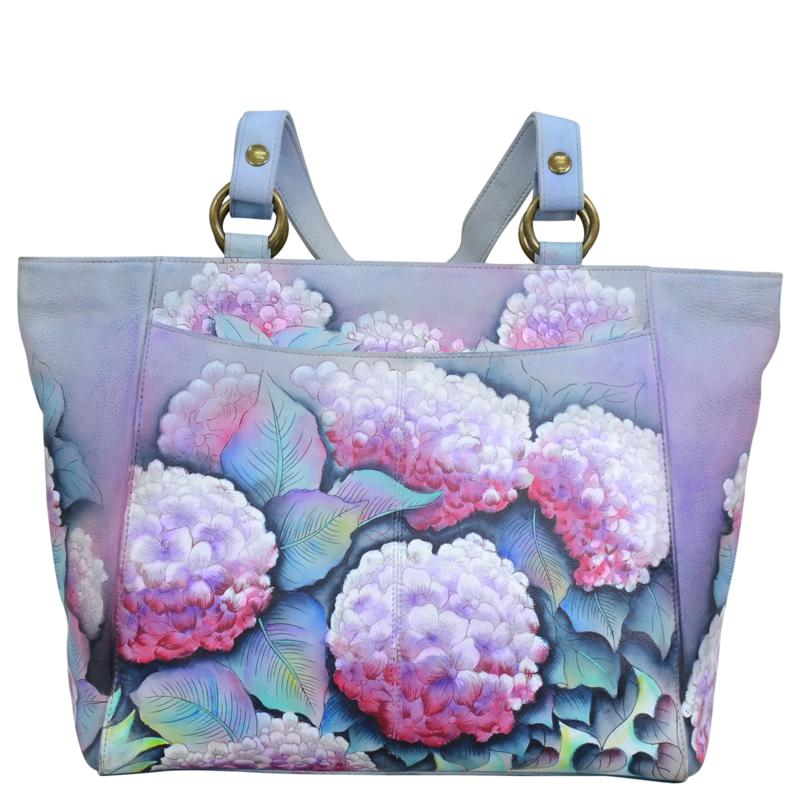 Anuschka Hand-Painted Leather Classic Work Tote