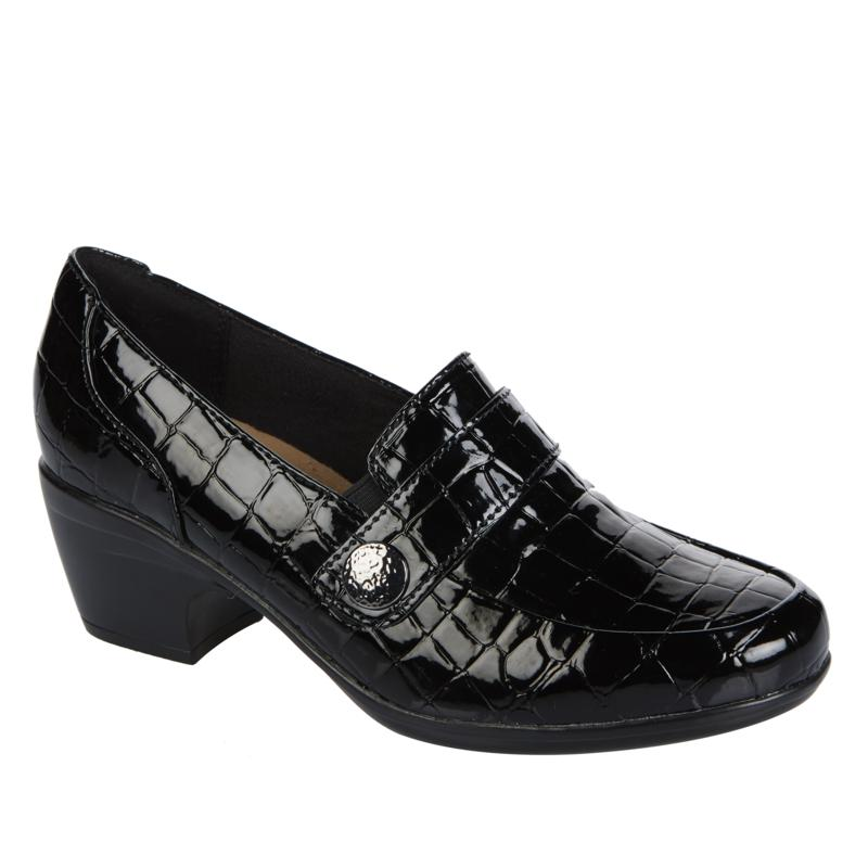 """""""As Is"""" Clarks Collection Emily Andria Leather Loafer"""