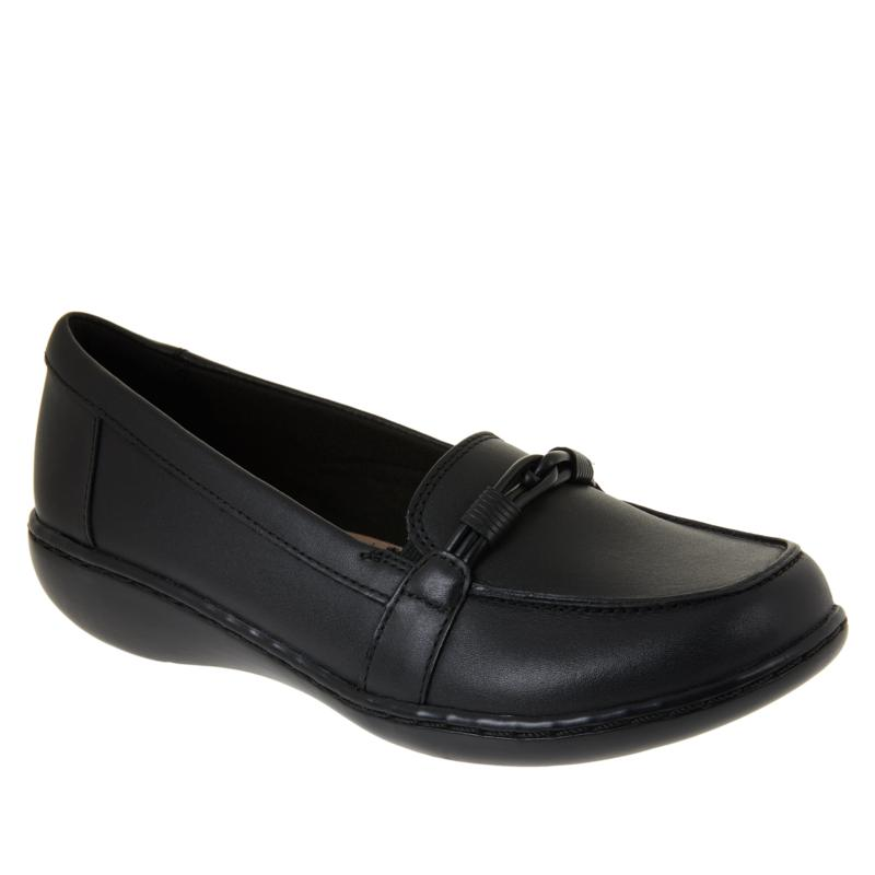 """""""As Is"""" Collection by Clarks Ashland Ballot Leather Loafer"""