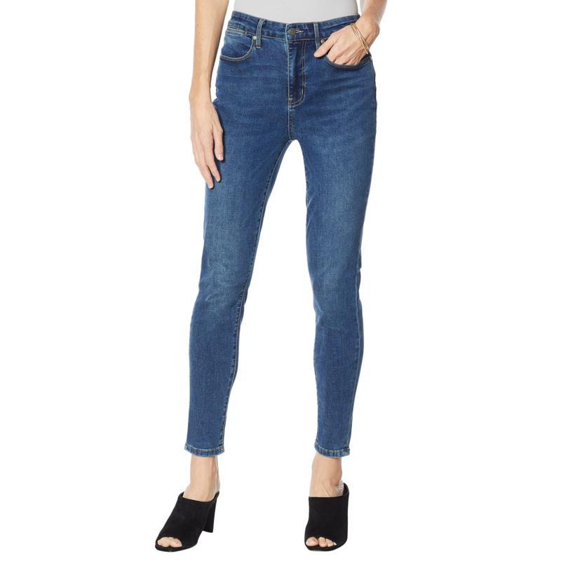 """As Is"" Colleen Lopez Saint Paul High-Waist Skinny Jean - Basic"