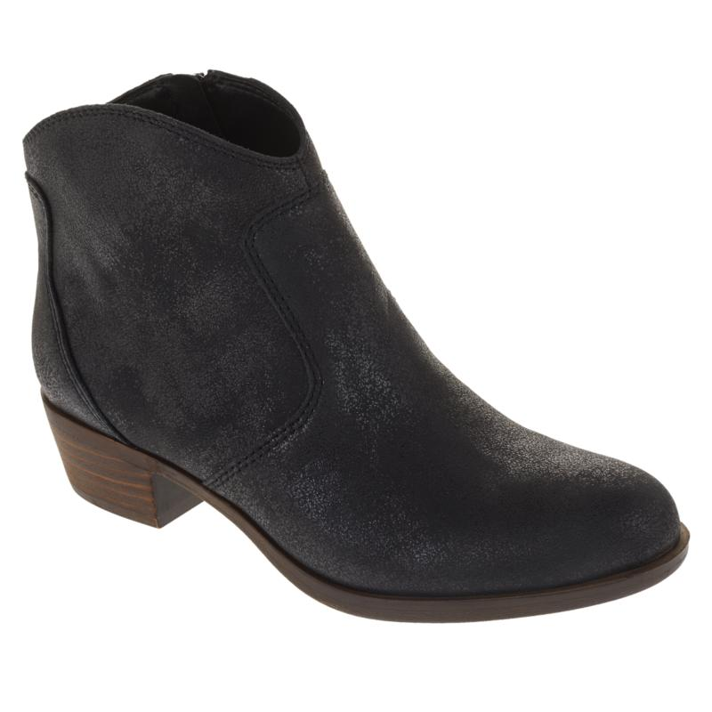 """""""As Is"""" Lucky Brand Belia Leather Ankle Bootie"""