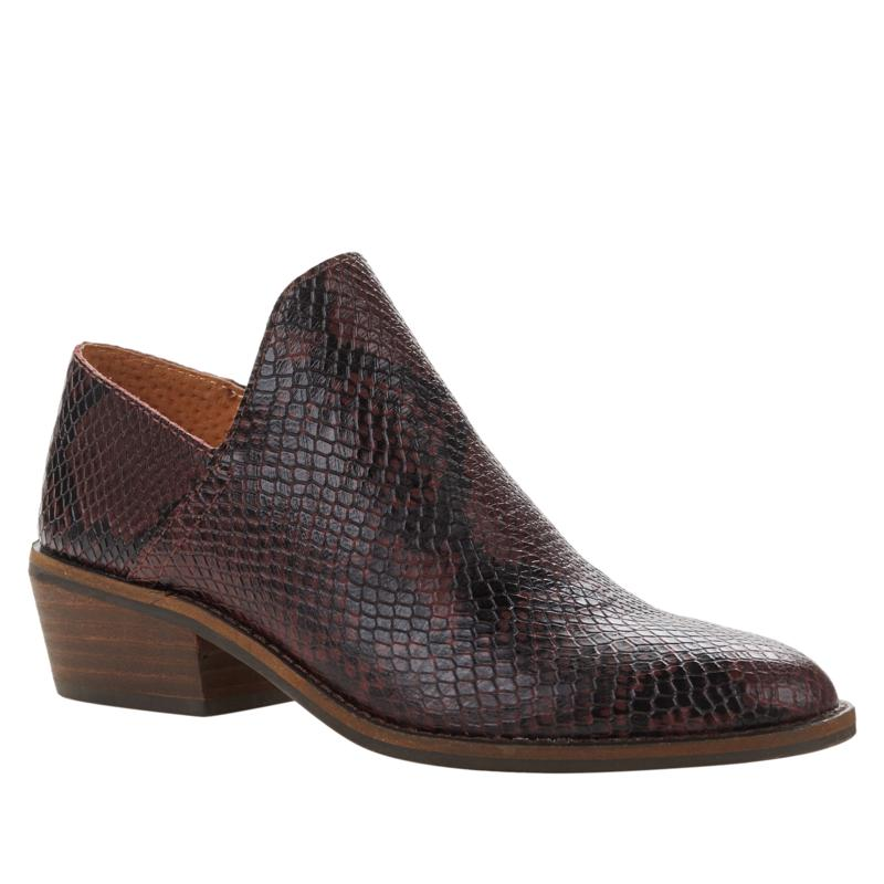 """""""As Is"""" Lucky Brand Fausst Pointed-Toe Leather Shootie"""