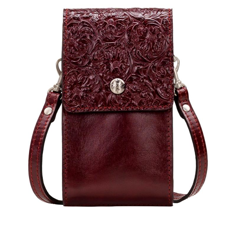 """""""As Is"""" Patricia Nash Rivalta Leather Crossbody"""