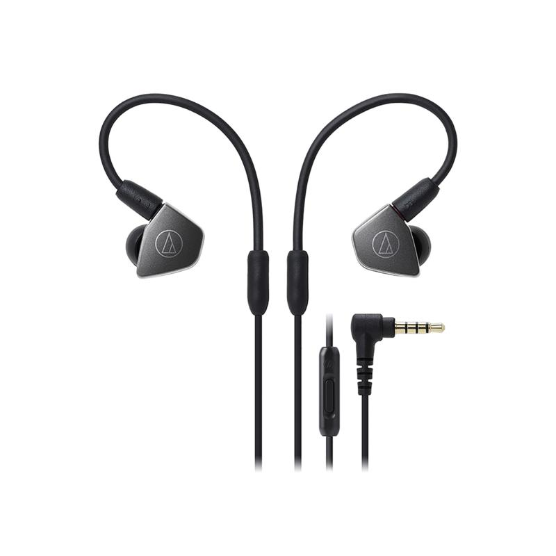 Audio-Technica LS70iS In-Ear Headphones with In-Line Mic & Controls