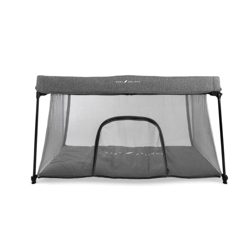 Baby Delight® Go With Me™ Nod Deluxe Portable Travel Crib - Charcoal