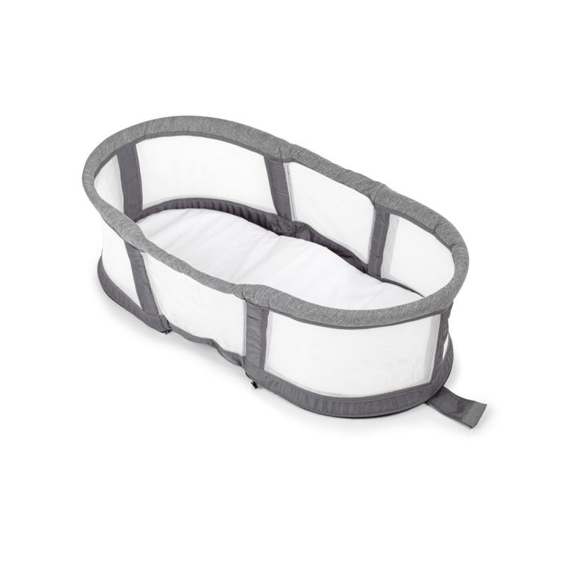Baby Delight® Snuggle Nest™ Peak Portable Infant Bassinet - Charcoal