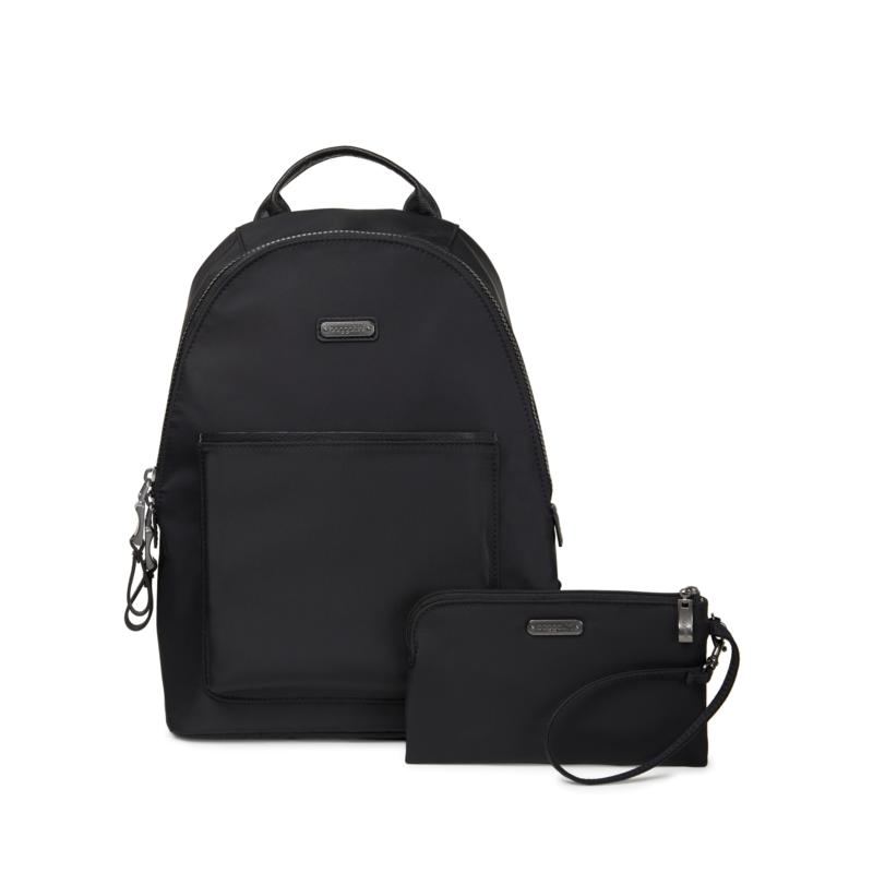 Baggallini Central Park Backpack with RFID and Wristlet