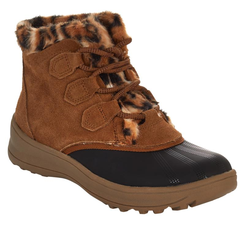 Baretraps® Augustina Leather Lace-Up Duck Boot with Stay Dry System