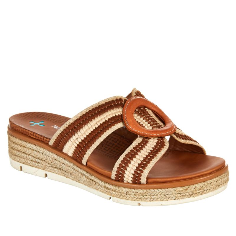 Baretraps® Posture Plus Bliss 2-Tone Wedge Sandal