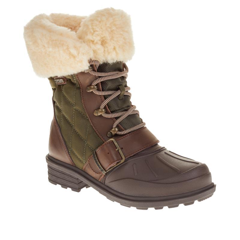 BEARPAW® Delta Weather-Resistant Nylon Hiker Boot with NeverWet™