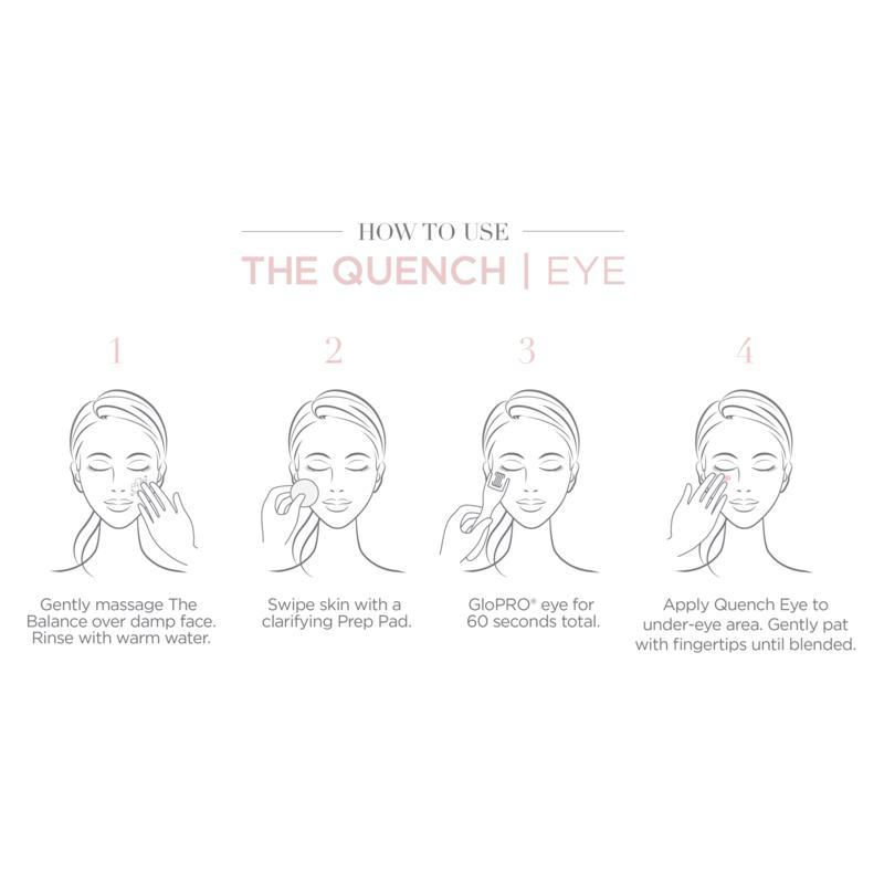 BeautyBio The Quench Eye Quadralipid Balm with Bag - 10080892   HSN
