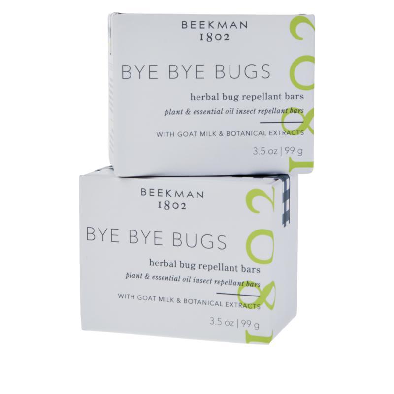 Beekman 1802 2-pack Bye Bye Bugs Repellant Bar Soap Auto-Ship®