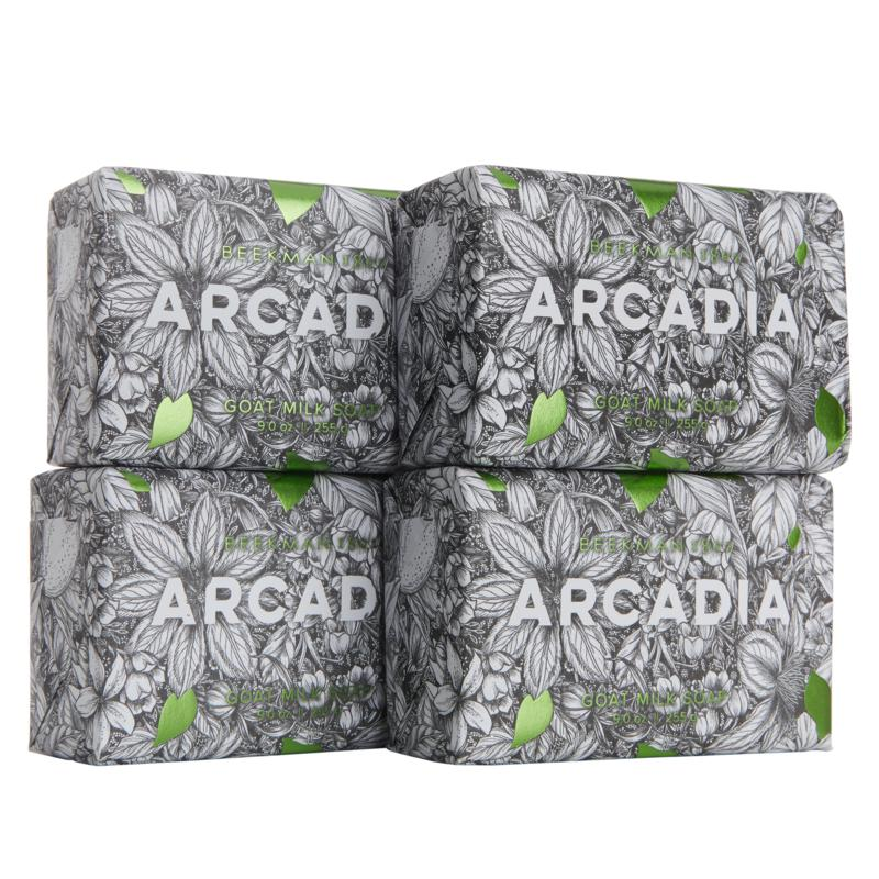 Beekman 1802 Arcadia Goat Milk Bar Soap 4-pack