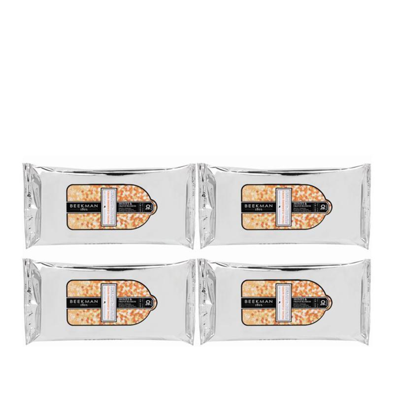 Beekman 1802 Honey & Orange Blossom 4-pack Face Wipes Auto-Ship®