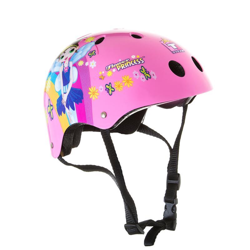 Bike USA Titan Flower Princess Girl's Helmet - S-M