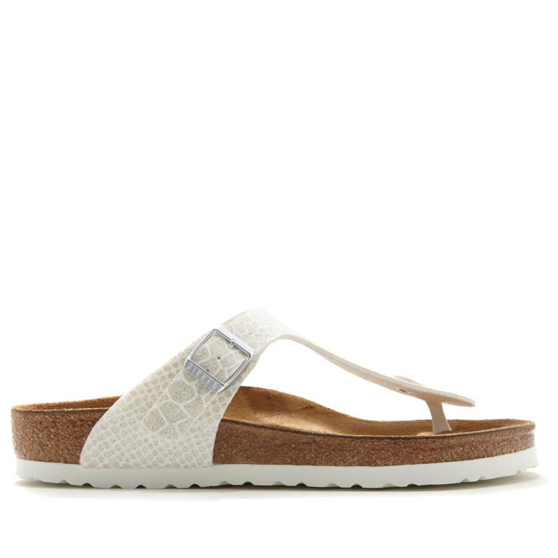 Birkenstock Gizeh Magic Snakeprint Thong Comfort Sandal