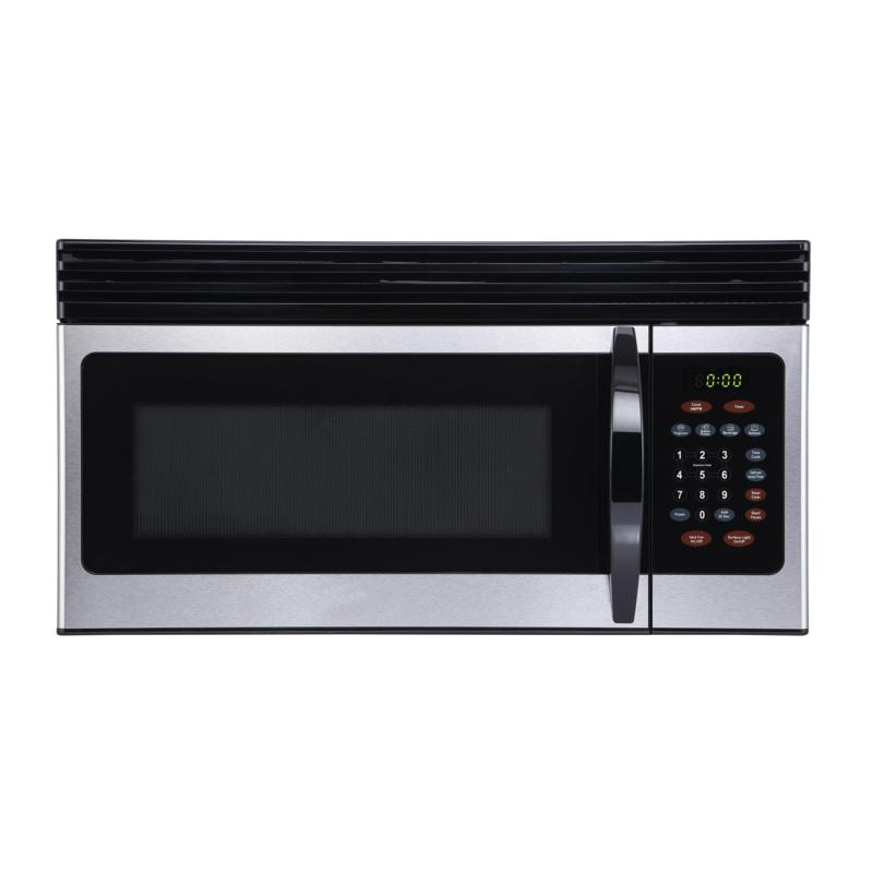 Black+Decker 1.6-Cu.Ft. Over-the-Range Microwave w/ Air Vent, Black