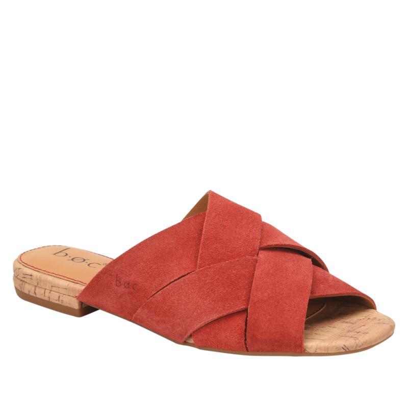 b.o.c. Genoveva Suede Slide Sandal